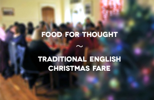 Traditional English Christmas Fare