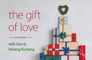 The Gift of Love Small Web Banner