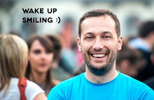 Day Oourse - Wake up Smiling