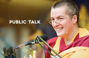 Gen-la Dekyong Public Talk