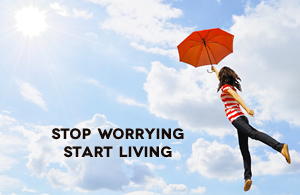 Stop Worrying Start Living Day Course